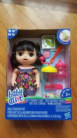 Baby alive sweet spoonfuls doll new in New Lenox, Illinois