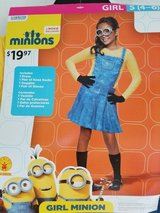 BNWT: Girls Minion Costume, Size S (4-6) in Fort Campbell, Kentucky