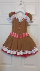 Cute Gingerbread Girl Costume, Size 4T/5T in Fort Campbell, Kentucky