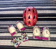Toddler bike pads and helmet in Spring, Texas