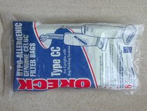 8 NEW Oreck Type CC Hypo-Allergenic Celoc Upright Vacuum Cleaner Filter Bags in Chicago, Illinois
