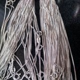 Sterling Silver  Chains, Cz earrings, stones 375 grams 59cents a gram in Plainfield, Illinois