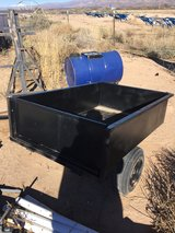 yard trailer with road tires in Alamogordo, New Mexico