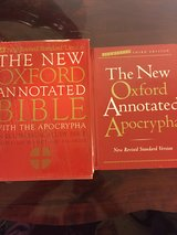 Oxford Annotated Bible (Set of 2) in Fort Campbell, Kentucky