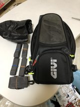 GIVI motorcycle tank bag in Okinawa, Japan