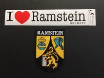 Badge and Sticker set. in Ramstein, Germany