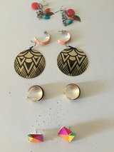 Earrings in Alamogordo, New Mexico