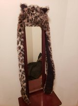 TEEN ANIMAL PRINT (LEAPORD) HAT WITH MITTENS in Fort Campbell, Kentucky