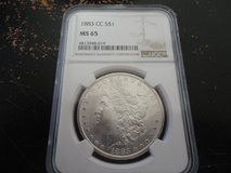 1883 cc ms 65 morgan dollar in Clarksville, Tennessee