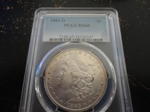1883 o ms 65 morgan dollar in Fort Campbell, Kentucky