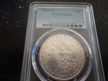 1883cc ms 64 morgan dollar in Clarksville, Tennessee