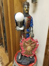 Composite Medieval Knight Lamp in Fort Leonard Wood, Missouri