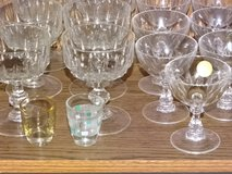 lot of glases - inharitance -house-clean-out in Ramstein, Germany