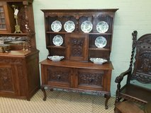Carved Oak Green Man Dresser Free Delivery Others Available in Lakenheath, UK