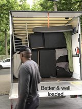 KMCC LOCAL MOVERS AND TRANSPORT, PICK UP AND DELIVERY, FURNITURE HANDLING ETC in Ramstein, Germany