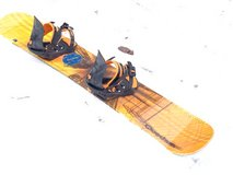 snowboard 153cm, with bindings, very good condition by Quetchua in Ramstein, Germany
