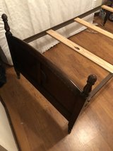 twin size antique bed in Fort Polk, Louisiana