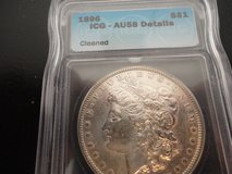 1896 au58 morgan dollar in Fort Campbell, Kentucky