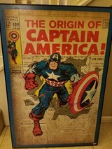 Large Captain America print in Spring, Texas