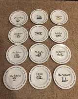 POTTERY BARN CENTURY PLATES. Turn of the Century to The Future. Complete Set! HTF! SEE PHOTOS in Lockport, Illinois
