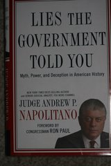 Lies The Government Told You, Judge Andrew Napolitano in Ramstein, Germany