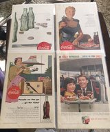 1950s Coca Cola Ads in Naperville, Illinois
