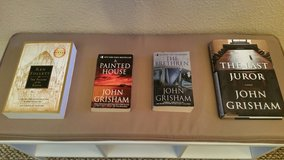 Assorted Books For Sale (Ken Follett, John Grisham, Vikas Swarup, Sara Ryan)! Great Condition! P... in El Paso, Texas