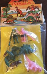 Vintage Mini Prehistoric Playset in Chicago, Illinois