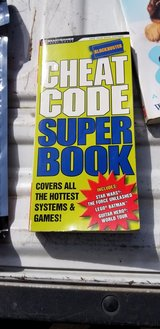 Cheat Code book for Video/Computer Games in Kingwood, Texas