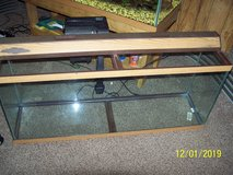 55 Gallon Tank, Light, Filter,  Clean and ready to use. in Camp Lejeune, North Carolina
