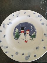 snowman plate in Orland Park, Illinois