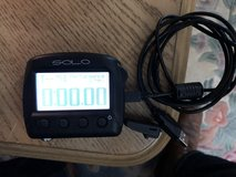 AiM SOLO GPS lap counter w/mount & USB cable in Travis AFB, California