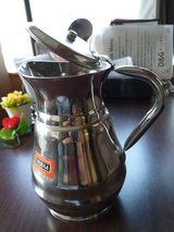 stainless steel pitcher in Okinawa, Japan