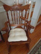 Antique Oak Rocking Chair in Cherry Point, North Carolina