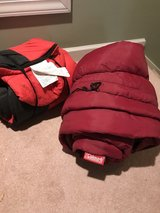 Two sleeping bags. Youth size. in Camp Lejeune, North Carolina