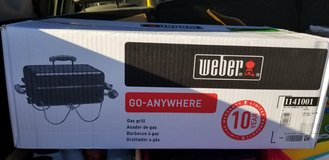 weber on the go gas grill in bookoo, US