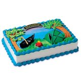 Camping Cake Topper - NEW in Kingwood, Texas