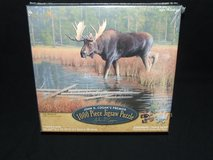 Moose Jigsaw Puzzle 1000pc The Monarch Premier Collection by John D. Cogan NEW in Glendale Heights, Illinois
