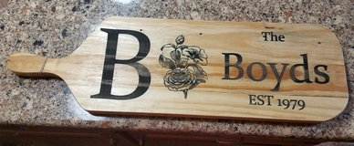 Engraved cutting boards in Camp Pendleton, California