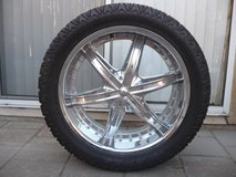 Rims, Wheels, and Tires, set of  5 in Camp Pendleton, California