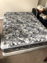 Queen Mattress + Boxspring + Frame in Camp Lejeune, North Carolina
