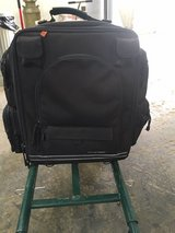 Large Nelson rigg travel sissy bar bag have top bag tube like and straps also in Fort Knox, Kentucky