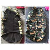 XL Camo dog coat from Top Paw in Joliet, Illinois