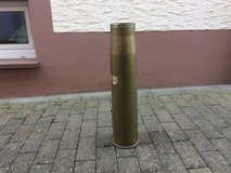 German 105 Howitzer Brass Casing in Lackland AFB, Texas