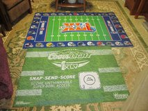 SUPER BOWL RUG/ MAT (LOT OF 2) in Sandwich, Illinois