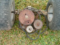 Riding Lawnmower Transmission And Wheels /Tires in Kingwood, Texas