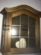 Solid oak Cabinet to hang on wall in Grafenwoehr, GE