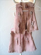 genuine leather cowgirl outfit size M (about a 7-8 US) or 134 (EU) in Stuttgart, GE