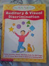 Auditory and visual discrimination work book in Camp Lejeune, North Carolina