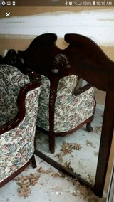 Antique couch and mirror set in Fort Campbell, Kentucky